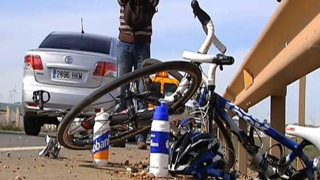 Fallecen dos ciclistas atropellados y un tercer hombre resulta herido en la A-384 de Campillos (Málaga)