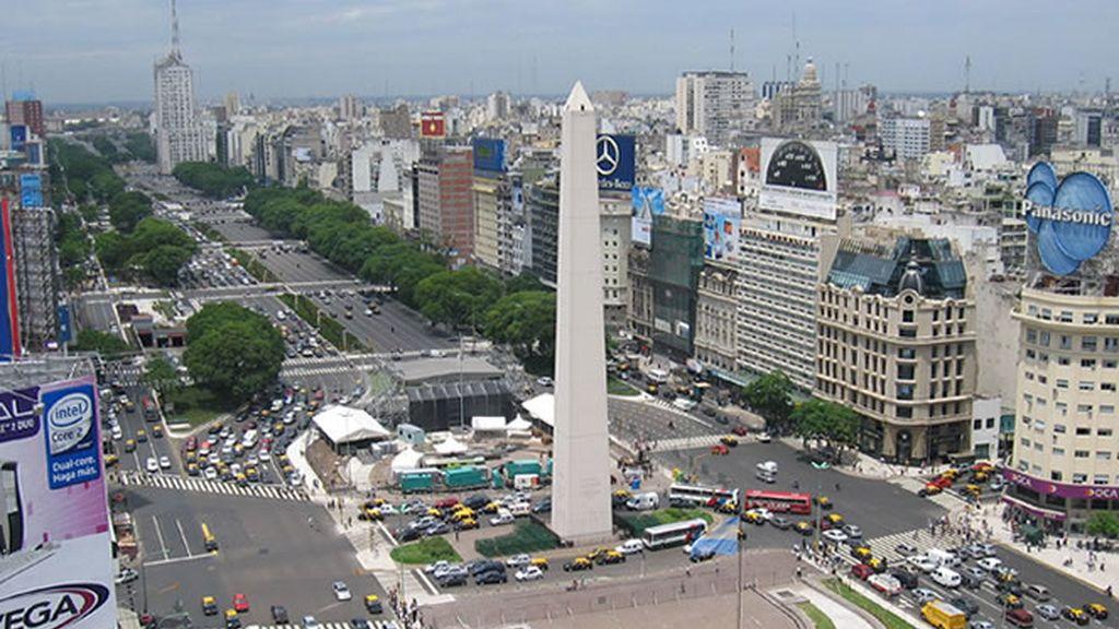 El Obelisco, uno de los símbolos de Argentina