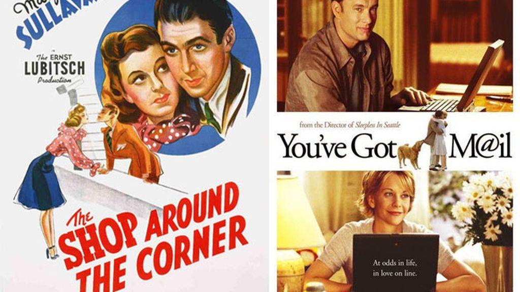 Tienes un email (1998) vs El bazar de las sorpresas (1940)