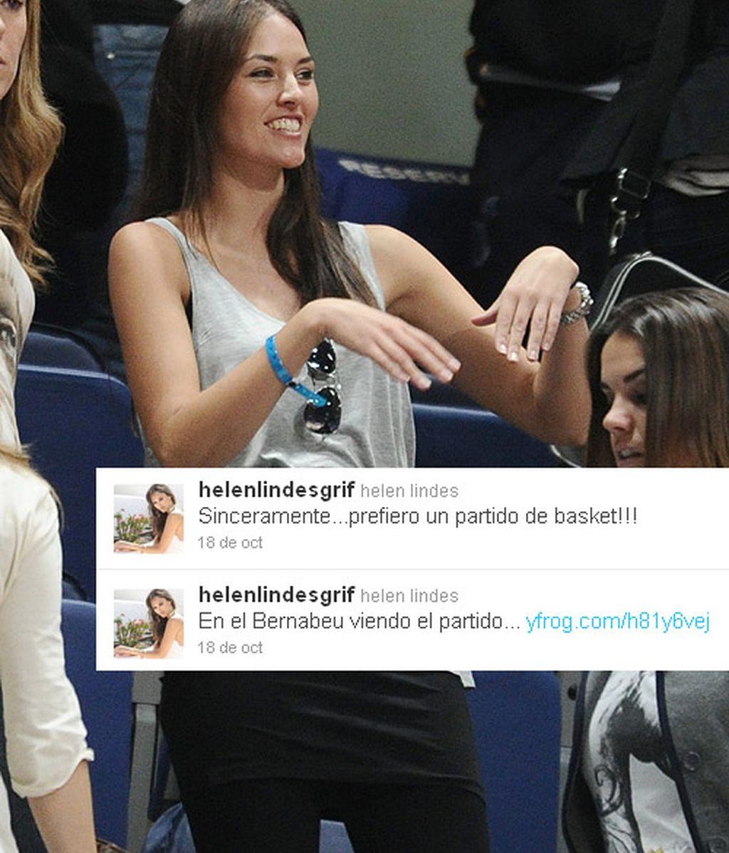 Helen Lindes y Amaia Salamanca en el baloncesto