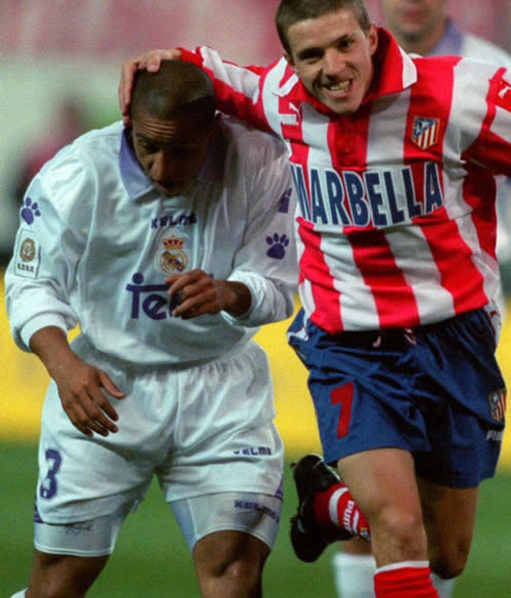 Roberto Carlos y Juninho, brasileños enfrentados