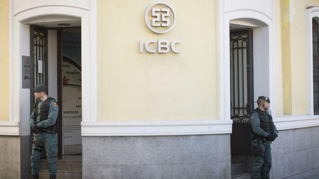Operación contra el Banco Industrial y Comercial de China (ICBC) por blanqueo