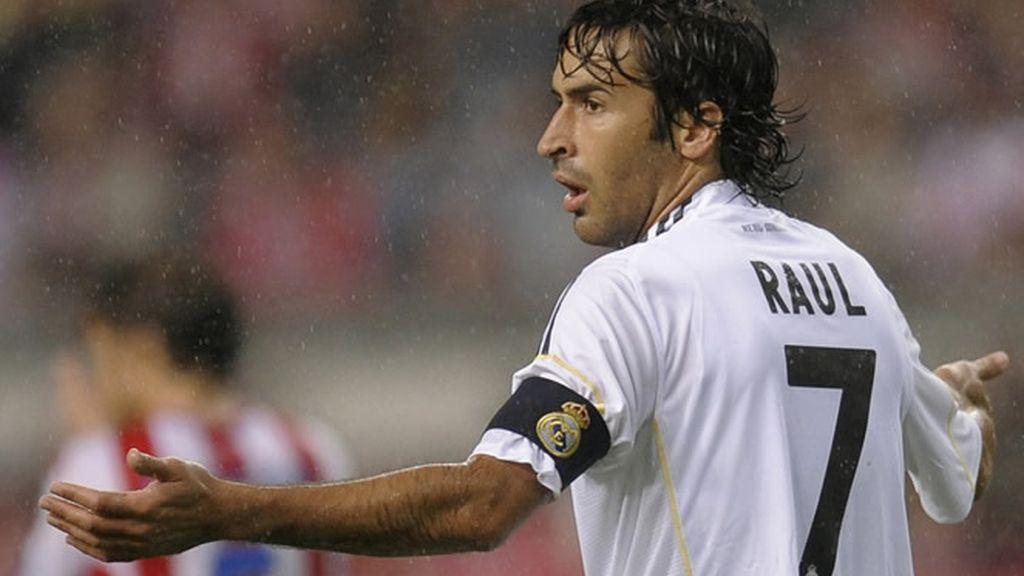 Raúl podría quedarse fuera del 11 titular frente al Atleti