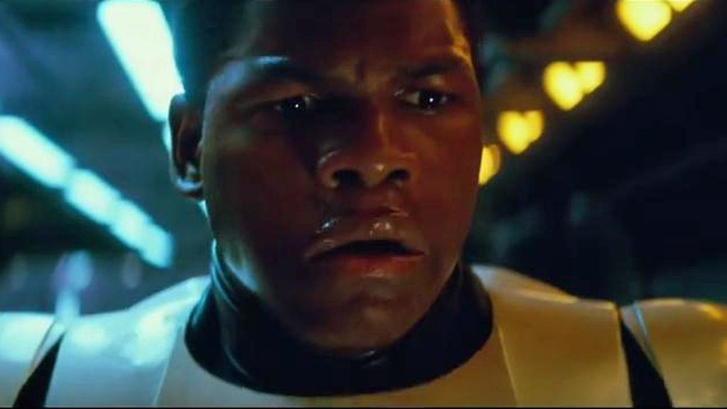 Star Wars trailer Finn