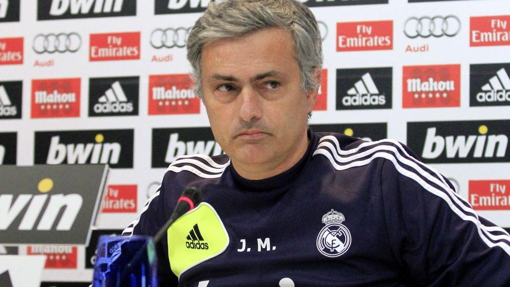 José Mourinho, en rueda de prensa. Foto: EFE