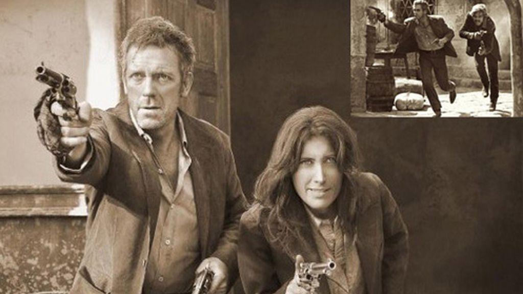 House y Cuddy en la mítica escena de 'Dos hombres y un destino'