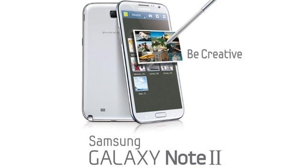 """El Samsung Galaxy Note II saldrá a la venta en España este jueves para todos aquellos usuarios que """"busquen algo más""""."""