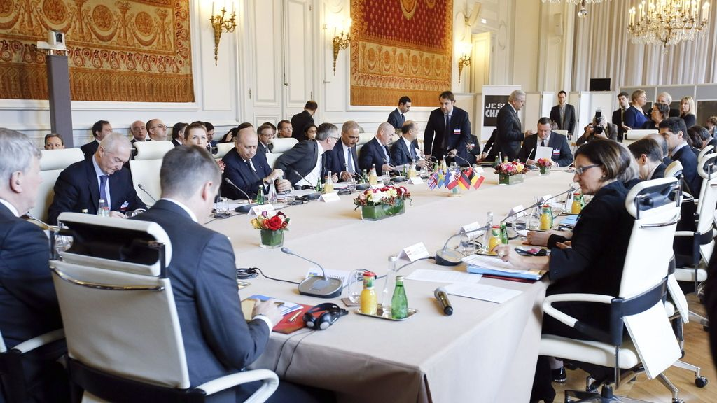 Reunión de ministros del Interior europeos en París