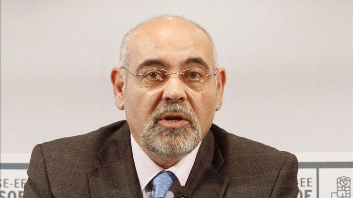 El portavoz del PSE-EE, José Antonio Pastor. EFE/Archivo