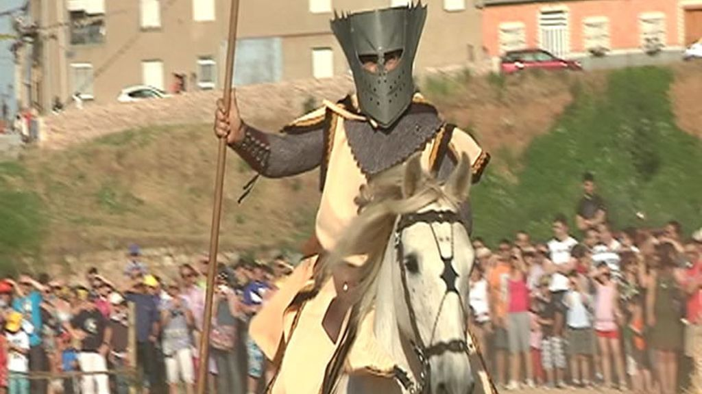Batalla de lanzas en Órbigo