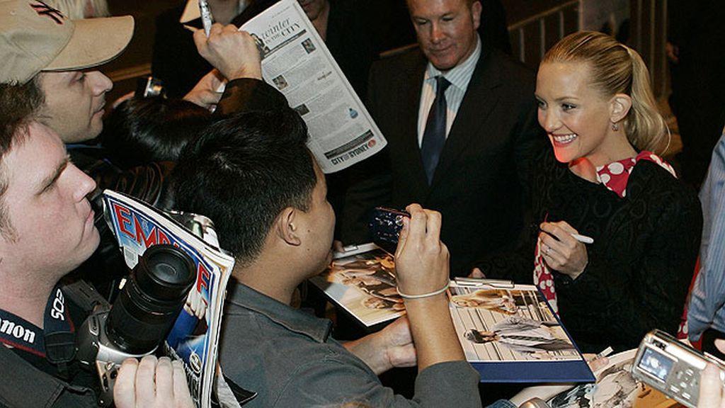 La atractiva rubia Kate Hudson
