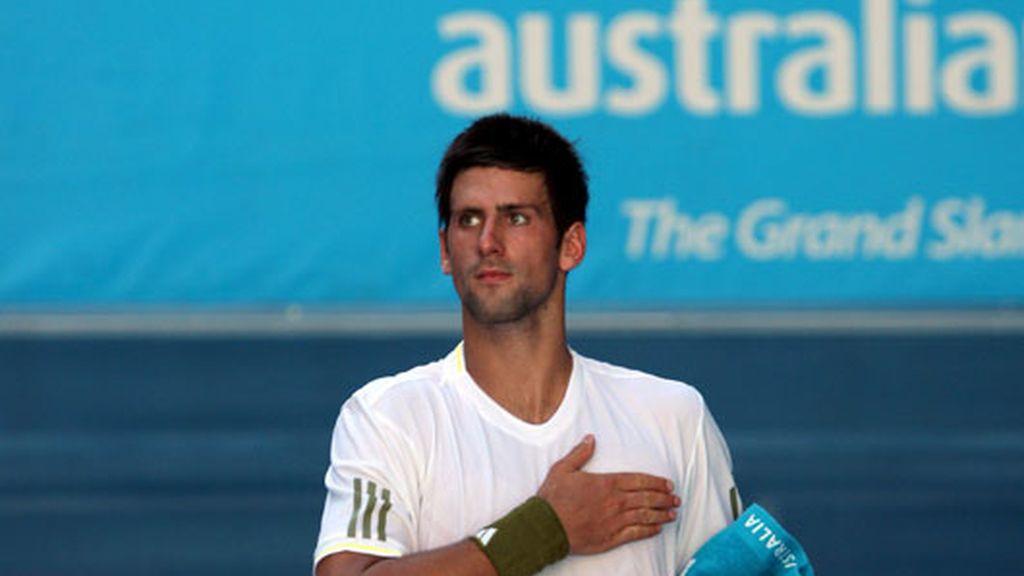 El calor vence a Djokovic