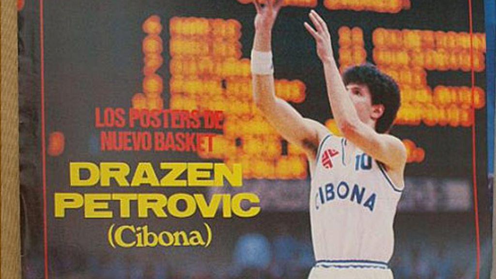 Drazen Petrovic, en su querido Cibona