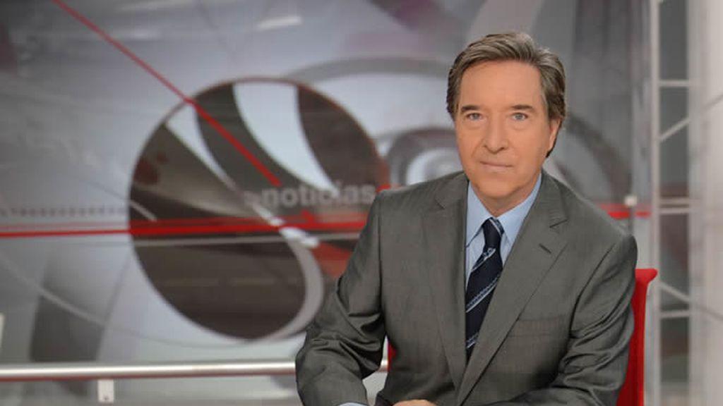 Iñaki Gabilondo, presentador de Informativos Cuatro