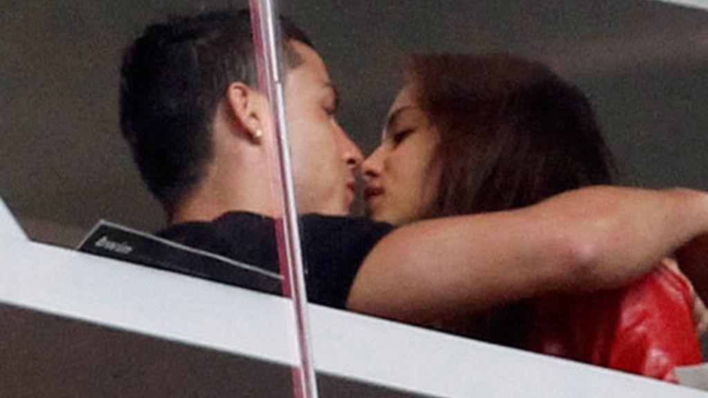 ¡Cuánto amor entre Cristiano e Irina!