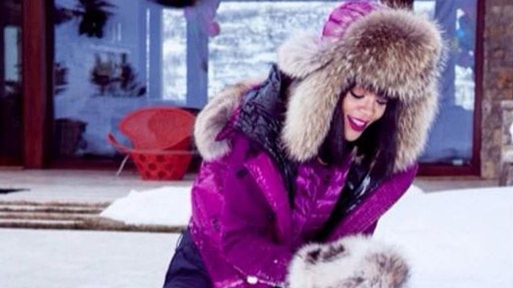 Rihanna, estación de esquí Aspen