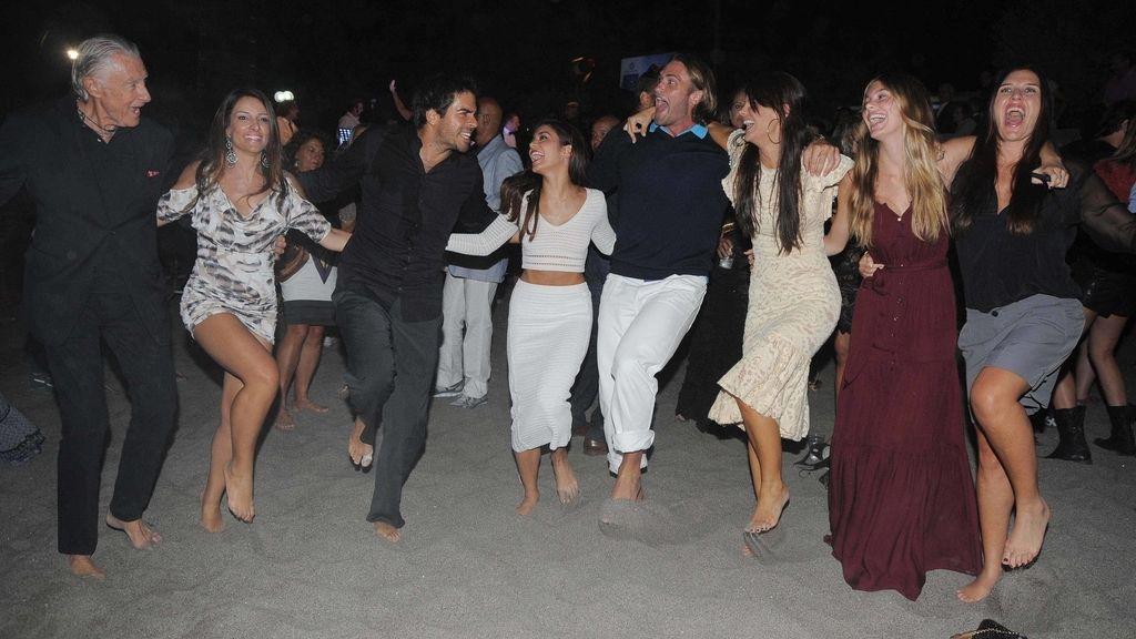 El finde 'chillout' de Vanessa Hudgens en Ischia