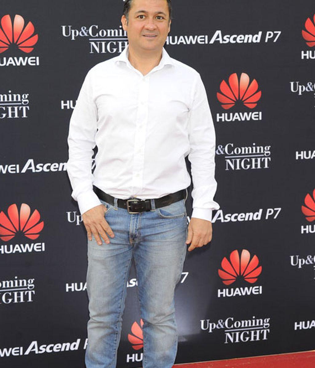 Secún de la Rosa asistió a la presentación de Huawei
