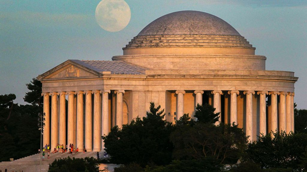 'Superluna' en Washington