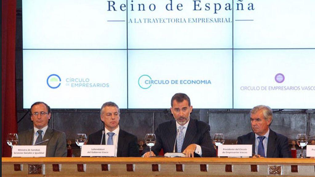 """El rey Felipe VI afirma que España es """"el gran patrimonio común de todos"""""""