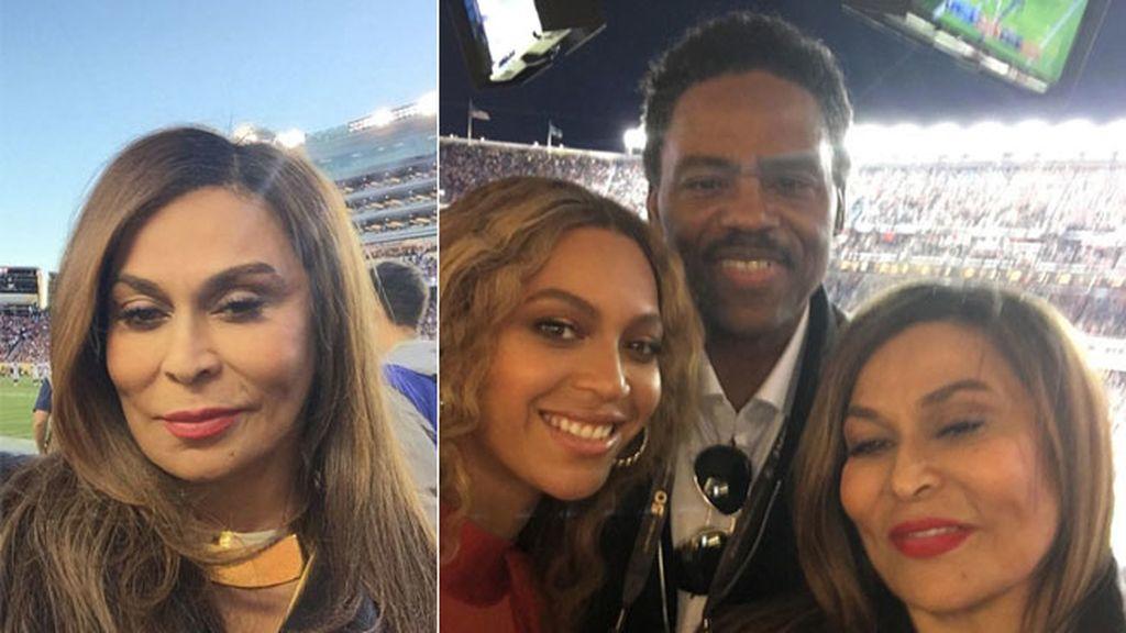 La madre de la artista, Tina Knowles, ha presumido de hija en redes