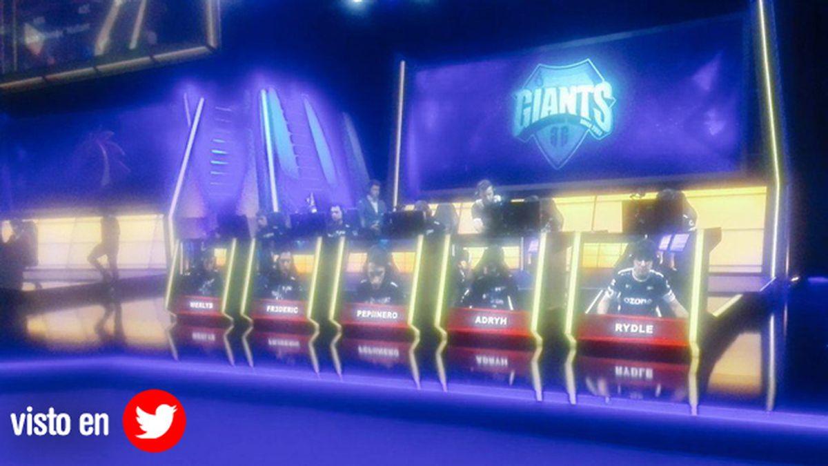 Giants, LCS, vjuegos