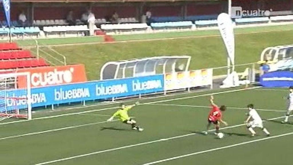 Resumen de la primera jornada del torneo alevín de fútbol 7
