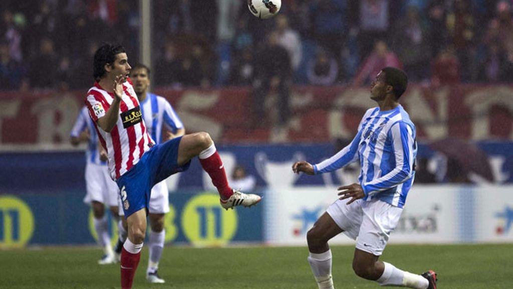 Atlético 2 - 1 Málaga