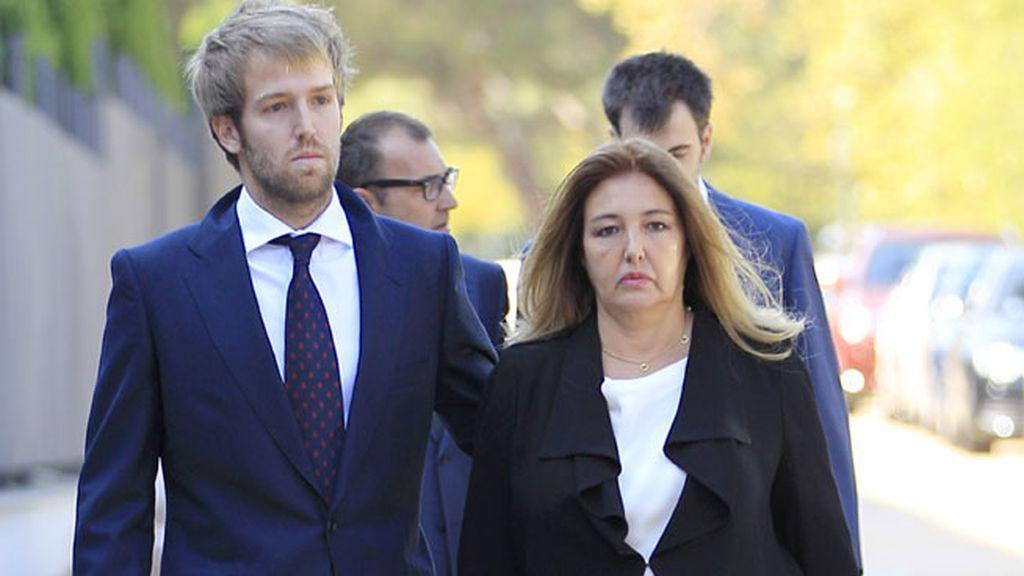 Laura Boyer, hija de su matrimonio con Elena Arnedo