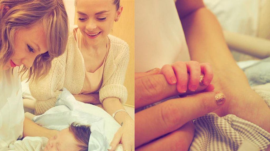 Taylor Swift conoce al hijo de su mejor amiga, su ahijado Leo