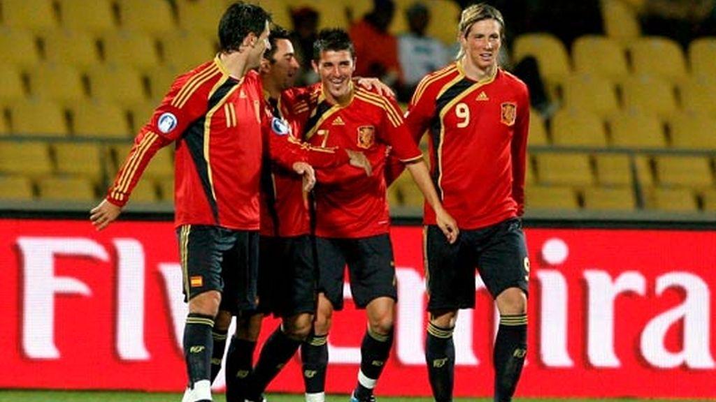 Nueva Zelanda - España, en imágenes