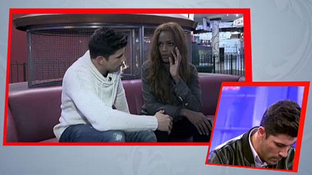 """Cristian, a Liz: """"Quiero demostrarte que soy el hombre que vas buscando"""""""