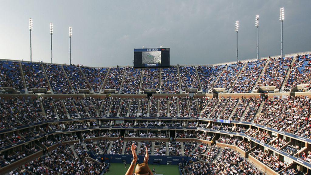 Las gradas se llenaron en la final del US Open