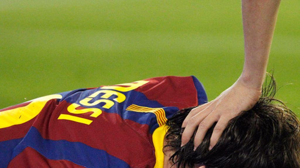 Leo Messi, abatido