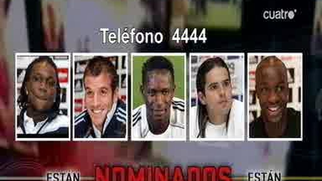 Y los nominados del Madrid son...