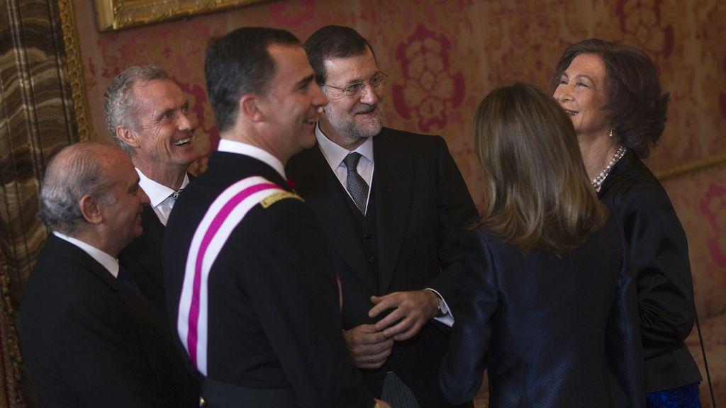 Primera Pascua Militar de Rajoy como presidente