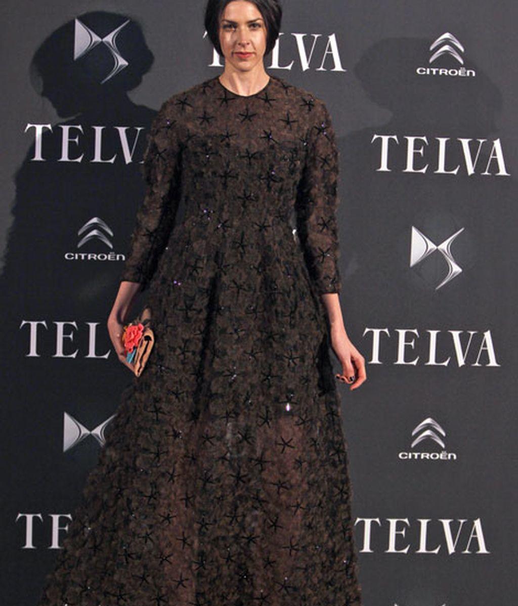 Brianda Fitz-James Stuart lució un vestido de Del Pozo
