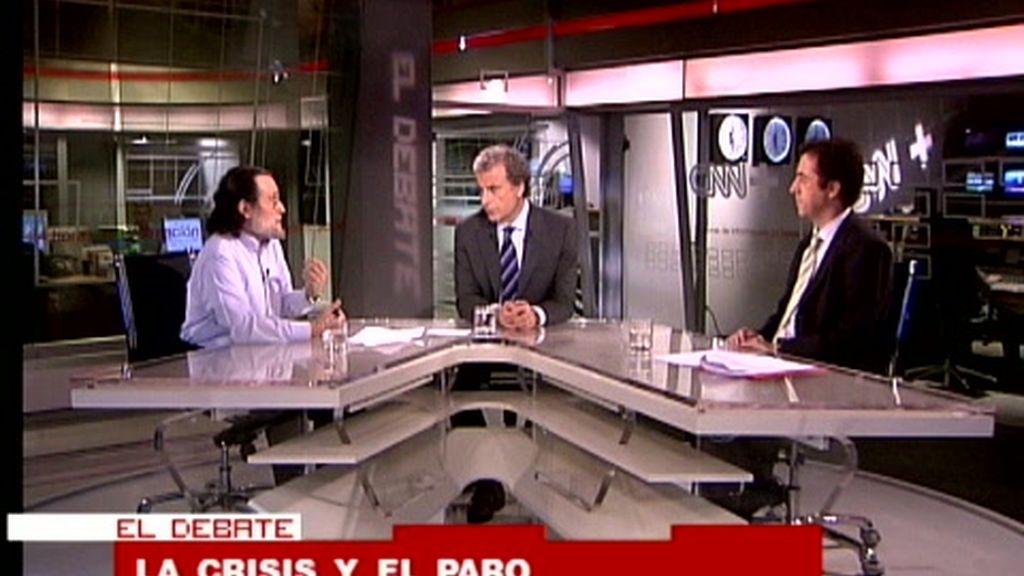 El Debate: 'La crisis y el paro'