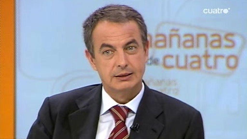 Entrevista al Presidente del Gobierno, José Luis Rodríguez Zapatero ( 1 de 5)