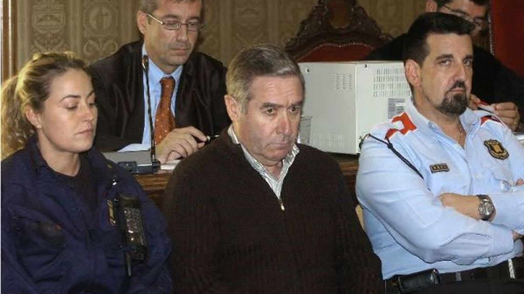 Llorenç Morell en el banquillo