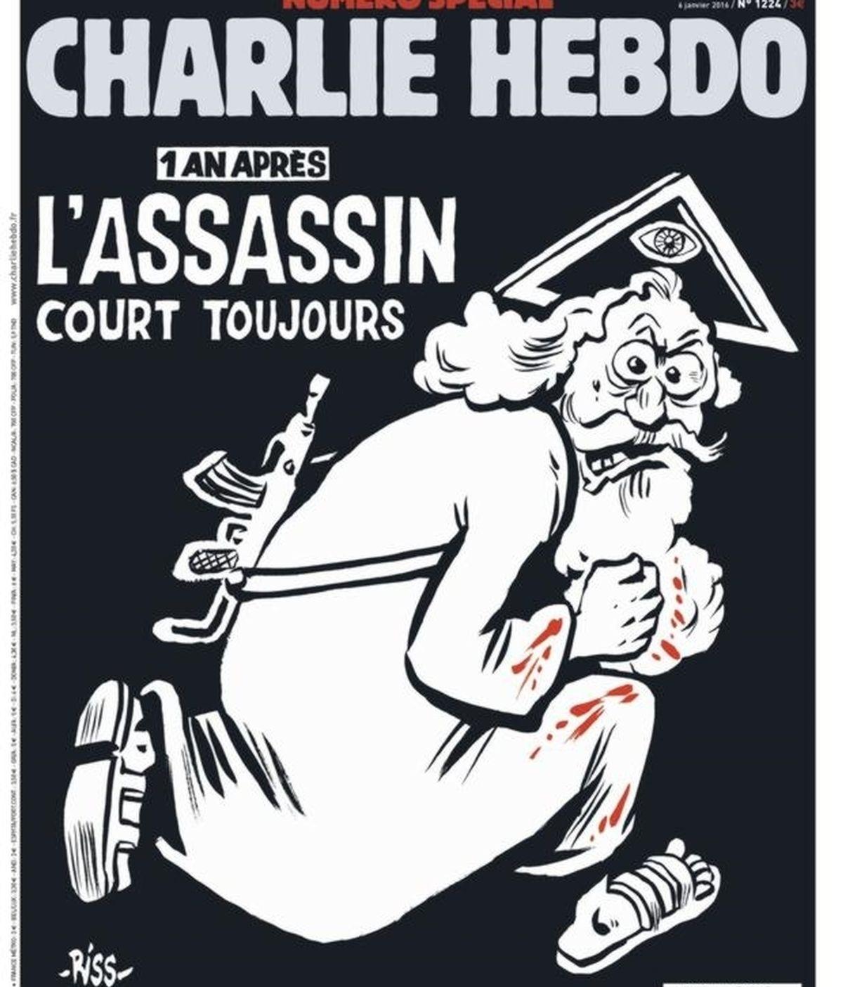 Nueva portada del Charlie Hebdo