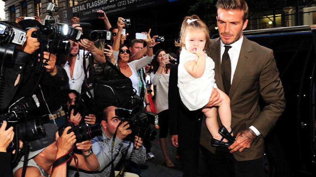 Su marido, David Beckham, de apoyo incondicional
