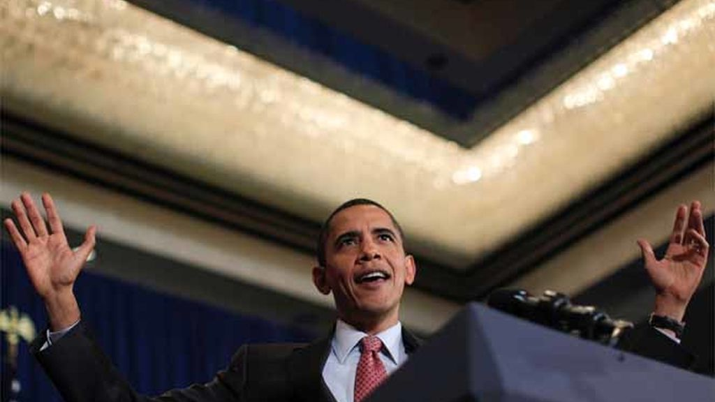 Mitin de Obama en Virginia