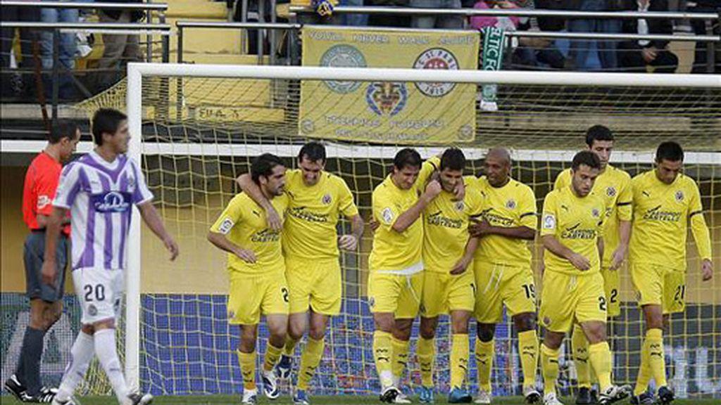 3-1. La mayor pegada le da la victoria al Villarreal ante el Valladolid
