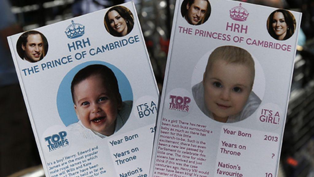 Reino Unido, preparado para dar la bienvenida al bebé real