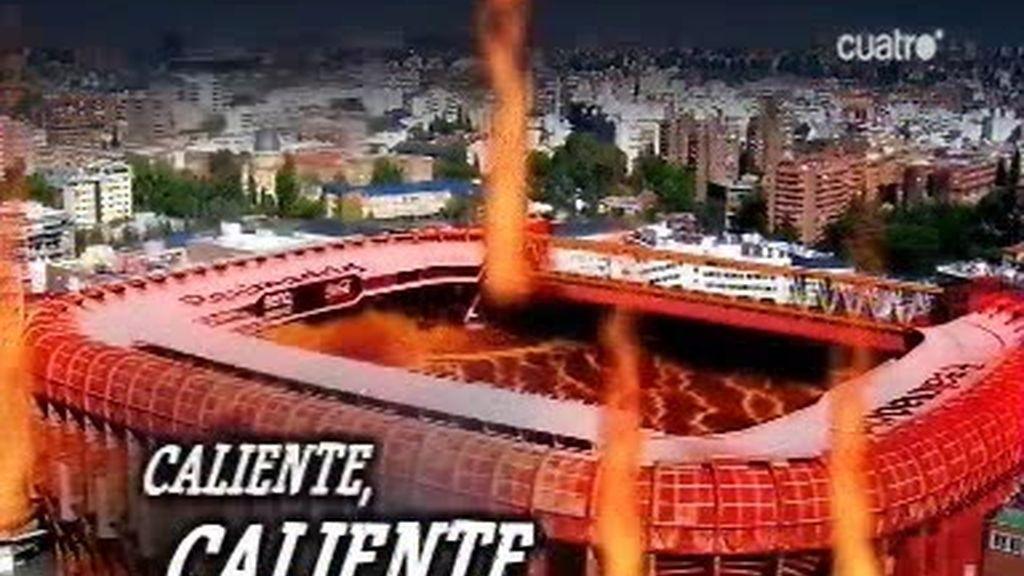 Mou quiere un Bernabéu caliente