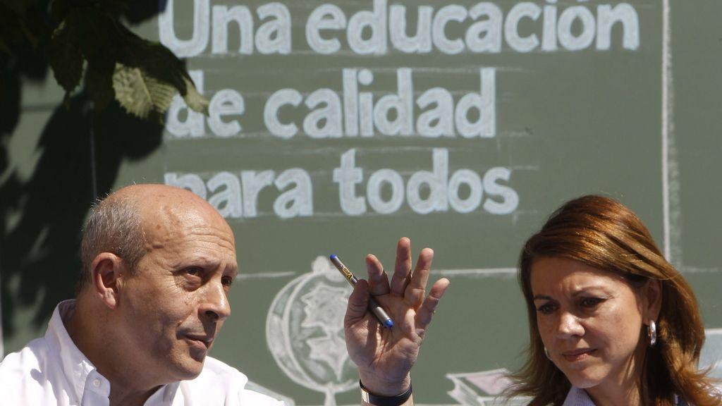 José Ignacio Wert, ministro de Educación. Foto: Efe