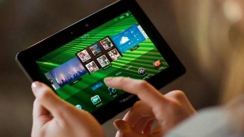 """""""Los rumores que sugieren que BlackBerry PlayBook está siendo abandonado son pura ficción"""", dijo la portavoz de RIM, Marisa Conway."""