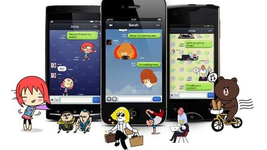 Line mejora la seguridad y añade nuevas opciones para chats y la cámara