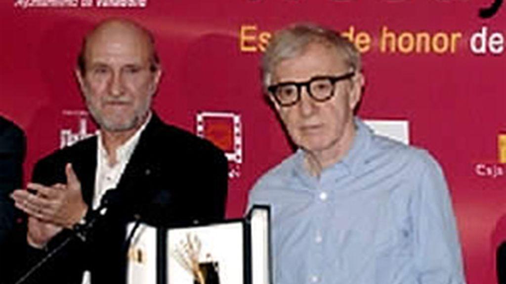 Woody Allen y su banda continuarán su gira por España con actuaciones en Granada, Murcia, Palma de Mallorca y Pamplona. Vídeo: ATLAS